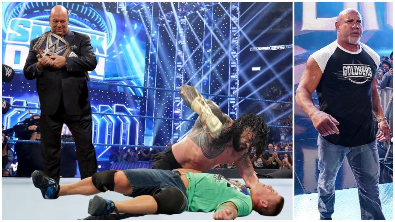 Roman Reigns ATTACKS John Cena & Paul Heyman Warning For Cena 2021 - Goldberg Not Fighting Lashley |