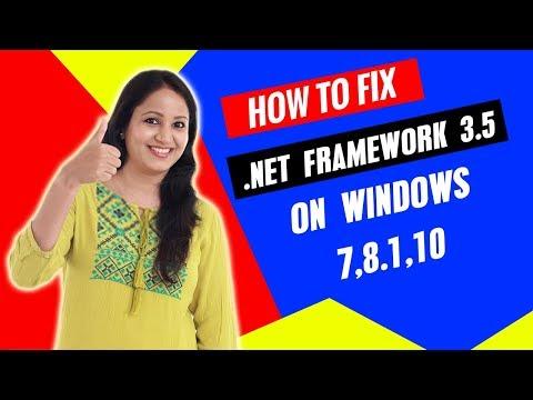 How to Fix  Net Framework 3.5  install Error 0x800f96 / 0x800f01f on Windows 8 | 8.1 | 10 Hindi/URDU