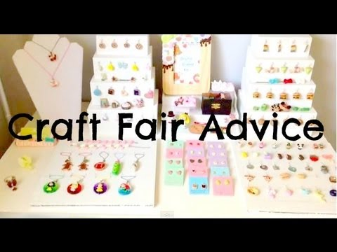 Craft Fair Advice Tips Displays My Experience Youtube