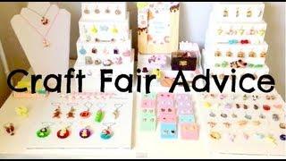Craft fair advice (tips, displays, my experience)