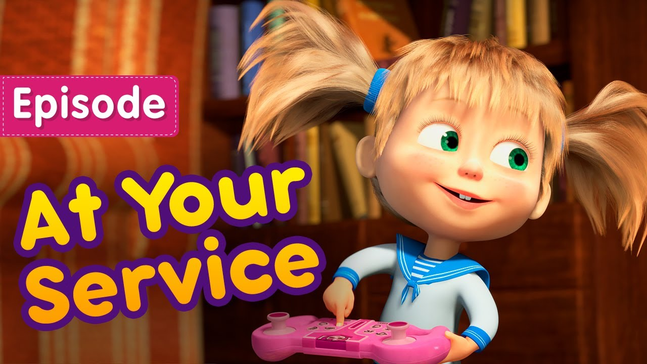 Download Masha and the Bear 💃 At Your Service 🤖 (Episode 60) 🎬