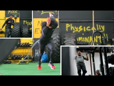 Andre De Grasse #SITE Ep 8: Strength & Resistance Session [FULL WORKOUT]