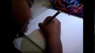 Imagination of a Boy: Boboiboy Speed Drawing