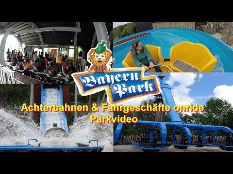 Bayern Park - Das Freizeitparadies - Parkvideo Fahrgeschäfte onride – Freischütz - Duell der Adler