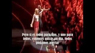 Taylor Swift ft BoB - Both of us subtitulada en español (live)
