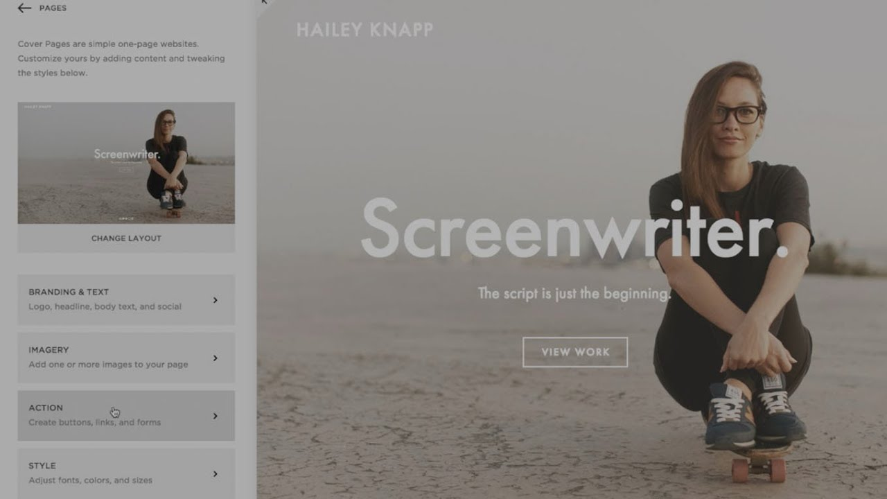 Creating cover pages in squarespace 7 landing pages in creating cover pages in squarespace 7 landing pages in squarespace squarespace tutorial video youtube pronofoot35fo Gallery