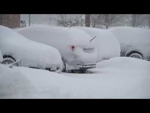 Marlborough, MA Deep Snow Winter Storm - 3/13/2018