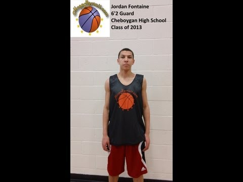 Jordan Fontaine HoopRecruit Work Out Tape