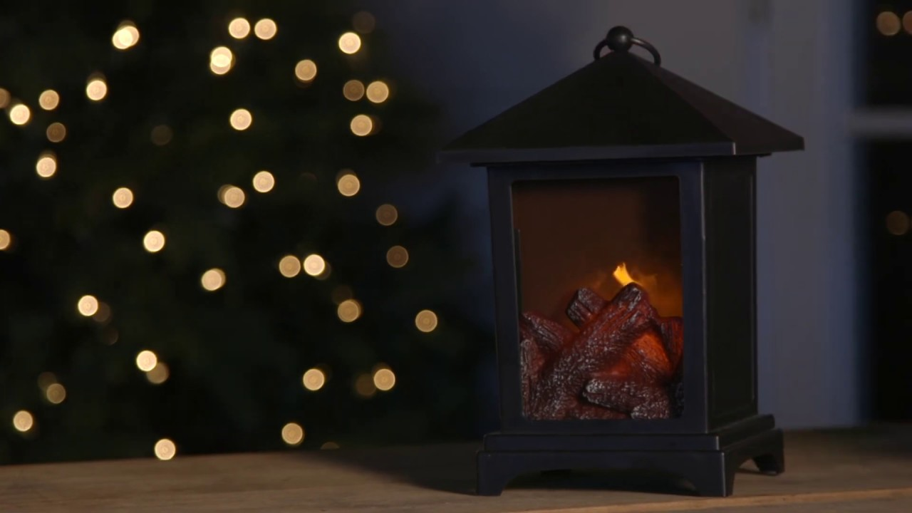 Fireplace Lantern 8LED488 from Cypress Home