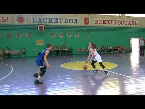 Турнир по баскетболу среди девушек 2005г Динамо Мск - Люберцы 05 2019