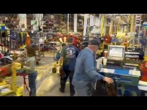 SAVANT AGV AGC Continuous Motion Assembly Line