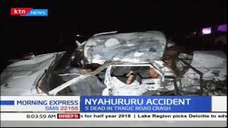 Five family members killed in yesternight Nyahururu accident