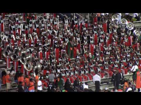 """FAMU 2016 """"Father Stretch My Hands"""" by Kanye West - Sept 17 vs Tuskegee"""