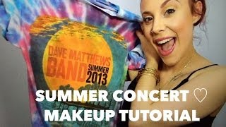 Summer Concert ♡ Makeup Tutorial