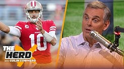 Colin Cowherd fills out his 'Quarterback Face' Bracket for NFL Playoffs | NFL | THE HERD