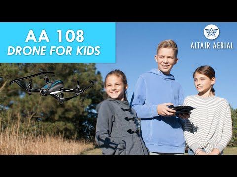 Altair Aerial AA108 Camera Drone For Kids