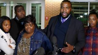 Press conference with mother who was arrested by Fort Worth police officer in viral video