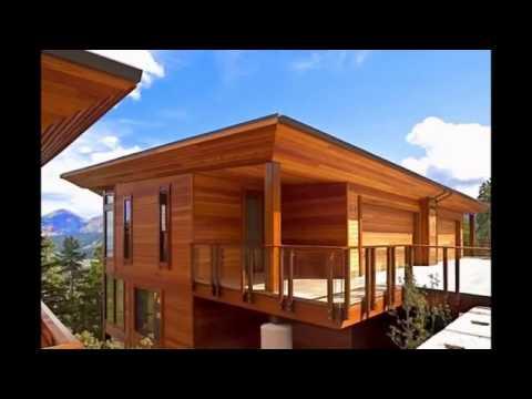 Rumah Kayu Minimalis Model Desain Rumah Minimalis Modern