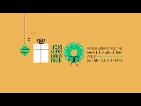Baylor School of Engineering and Computer Science Christmas Card 2017
