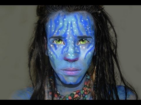 avatar makeup tutorial for halloween youtube