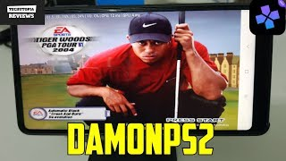 Tiger Woods PGA Tour 2004  DamonPS2 Pro PS2 Games on smartphones/Android/Gameplay