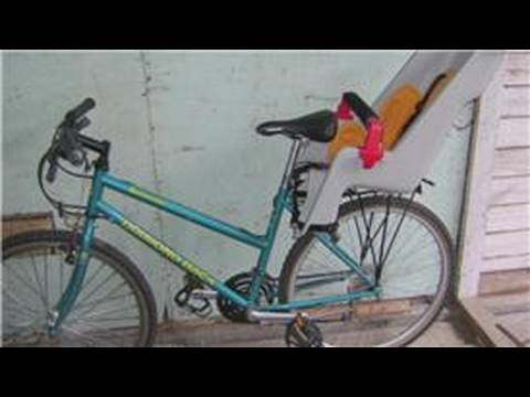 Bike Beach Chair Holder Beds Bicycle Equipment How To Install A Child Carrier On Youtube