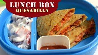 Pizza Paratha Lunch Box   Pizza Quesadilla Kids Lunch Box