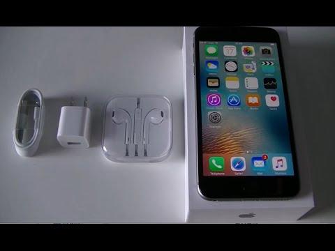 Déballage De Apple IPhone 6S Plus