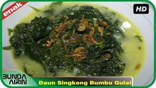 Resep Masakan Jawa Daun Singkong Bumbu Gulai Mudah Resep Sehari Hari Recipes Indonesia Bunda Airin
