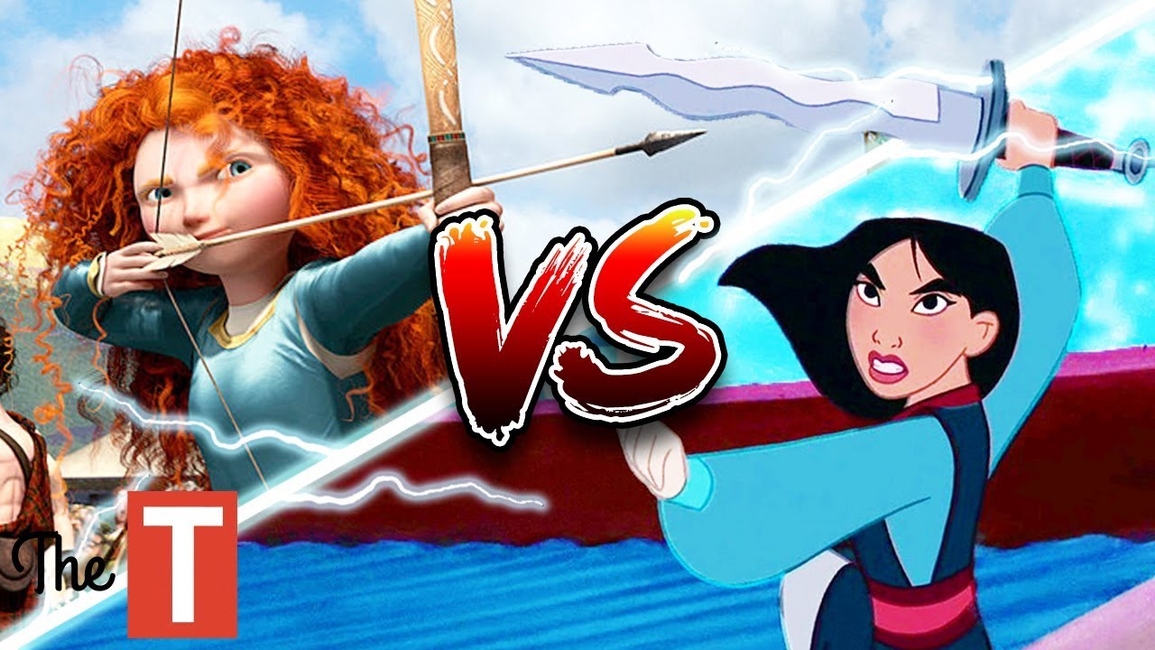 Download Merida Vs. Mulan Disney Princess Battle: Who Would Defeat The Other And Why