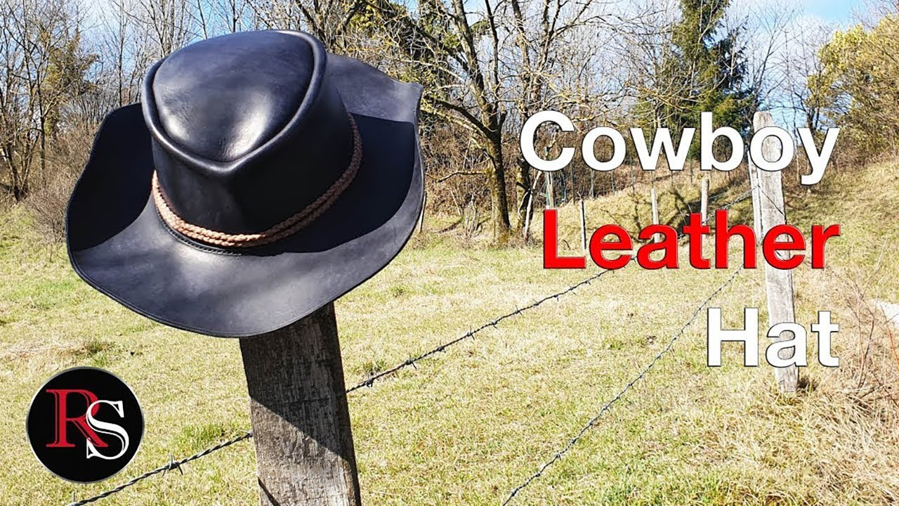 How to make A Leather Cowboy Hat - Leathercraft
