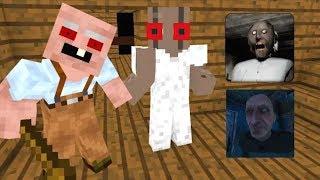 ШКОЛА МОНСТРОВ: Гренни Против Зомби Игра Челлендж - Майнкрафт Анимация