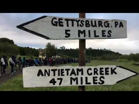 Judkins Middle School Civil War Encampment 2017