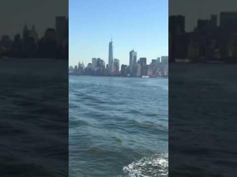 New York  Harbor Liberty Island