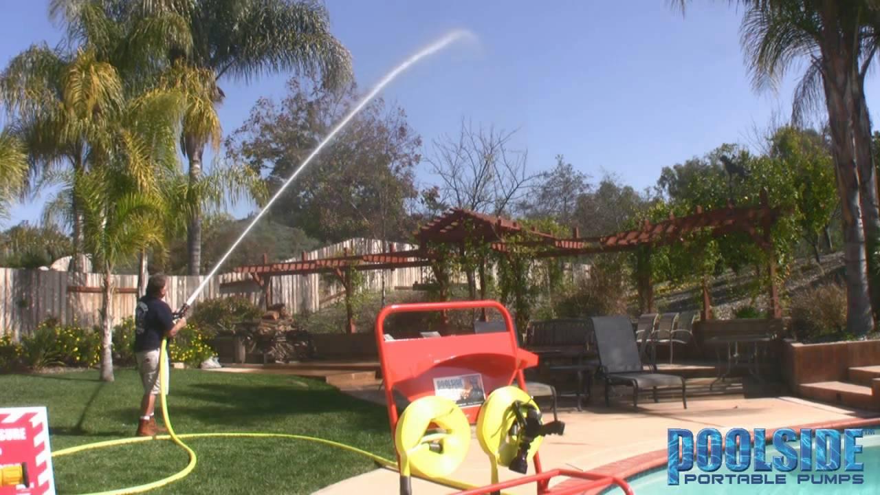 garden hose versus fire hose youtube