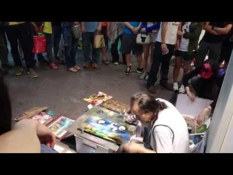 Creative Artist in Taiwan (Ximending) (西門町)