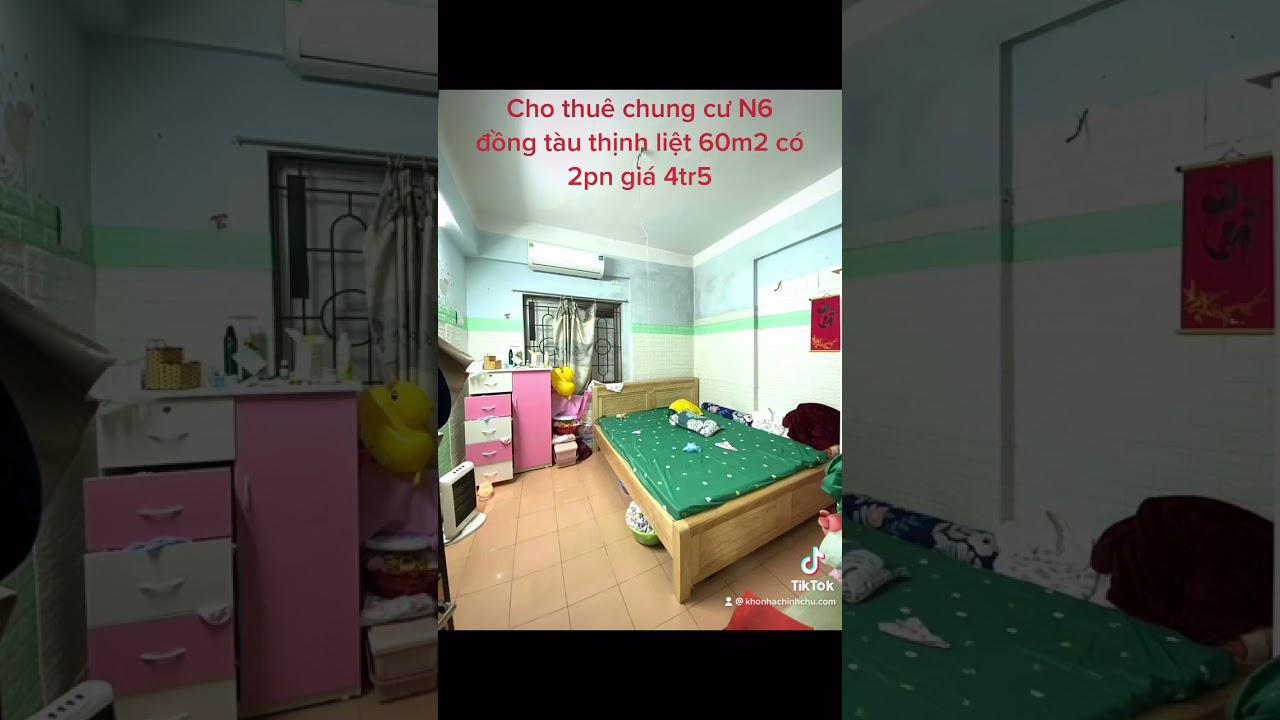 image Cho thuê căn hộ chung cư đồng tàu thịnh liệt 60m2 có 2pn giá 5tr
