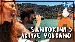 Near death experience around the Volcano of Santorini | Over reacting as always
