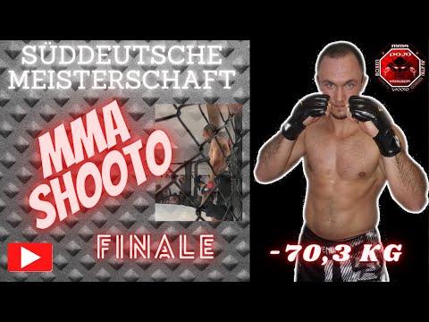 MMA/Shooto Finale Süddeutsche Meisterschaft 2018 - 70,3 Kg