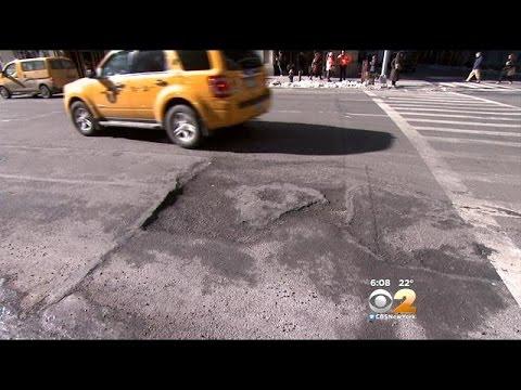 Pothole Season Makes Commute Difficult For Drivers Mp3