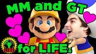 Mario Maker - STRANGE Life Goals!