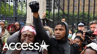 John Boyega's Emotional Speech at Black Lives Matter Rally
