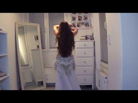 Nasini El Donya - Ragheb Alama - Isabella Arabic Belly Dance - نسينى الدنيا - راغب علامة  HD