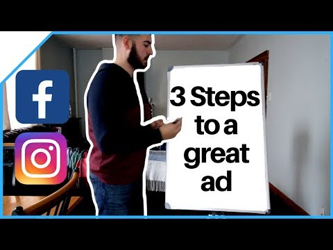 3 Steps To A High Converting Facebook Ad