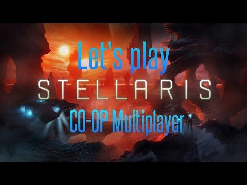 Stellaris Multiplayer Coop - The Human Alliance #4 (Drums Of War)