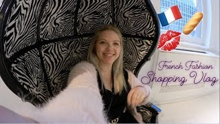 Shopping Vlog! French Fashion Come Shop With Me @ Parisian Style Brands Maje, Sandro Paris & Kooples