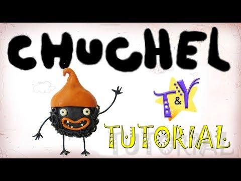 Как слепить Чучел из пластилина Туториал Chuchel from clay Tutorial