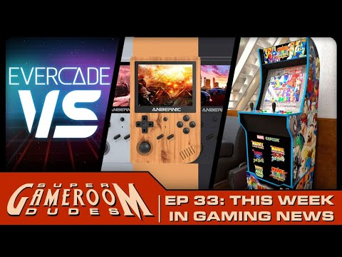 Anbernic RG351V, Evercade VS, Arcade1Up Cabinets Are Here & More!! SGRD| Ep. 33 from PDubs Arcade Loft