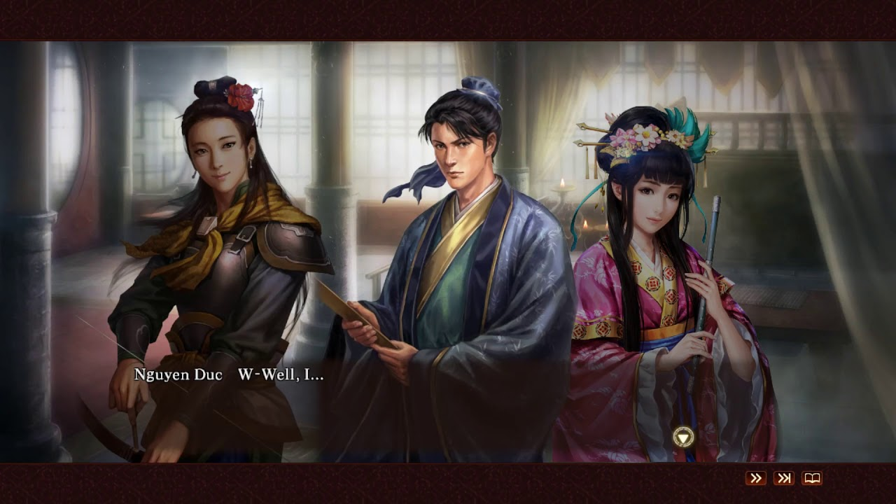 Romance of the 3 Kingdoms 13 - Harem ending