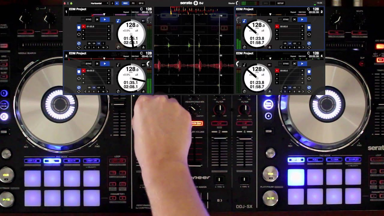 how to stop serato from lagging